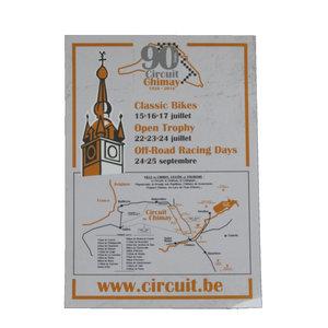 Carte postale - 90 ans du Circuit